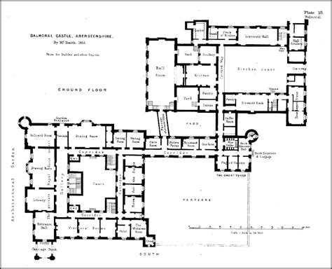 ardverikie house floor plan historic english manor house floor plans