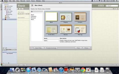 Bento 4 1 For Mac Pcmag Com Bento Template Exchange