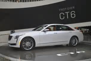 Cadillac Models 2016 Cadillac Ct6 Side Photo 1