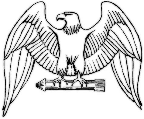 eagle wings coloring page eagle wing clipart clipart best