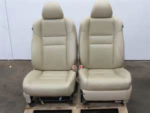 Acura Tsx Seats 04 05 Acura Tsx Leather Driver Passenger Front Seat
