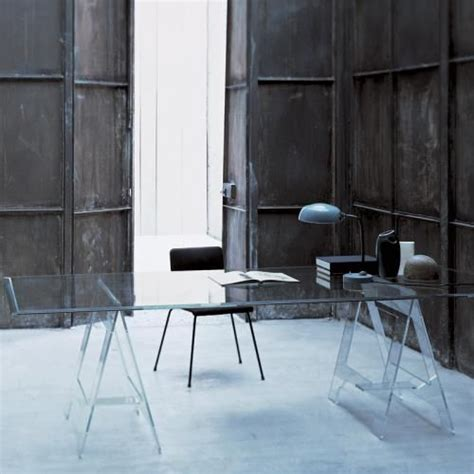 Glass Trestle Dining Table 20 Best Glas Italia Dining Tables Images On Pinterest Glass Dining Room Table Glass Furniture