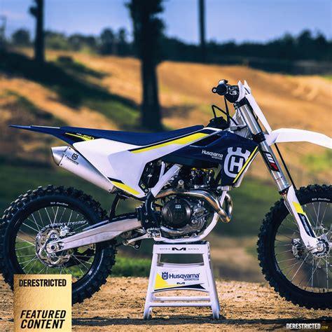 Husqvarna Dekor 2016 by Husqvarna My16 Motocross M Celli Derestricted