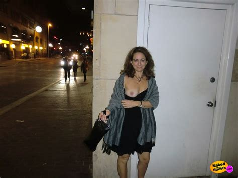 classy girl shows her boob after the opera