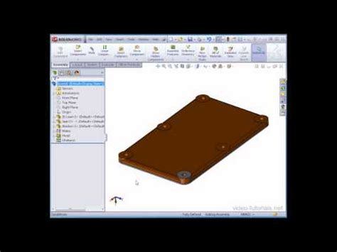 linear pattern solidworks youtube how to create a component pattern linear in the