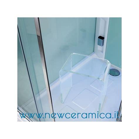 sgabello plexiglass sgabello per docce ad u in plexiglass trasparente