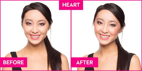 dos and donts for heart face shapes dos and donts for heart shape faces how to apply blush