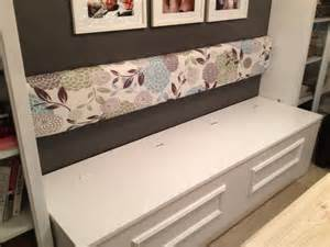 Diy Storage Bench Zen Shmen Diy Banquette Storage Bench