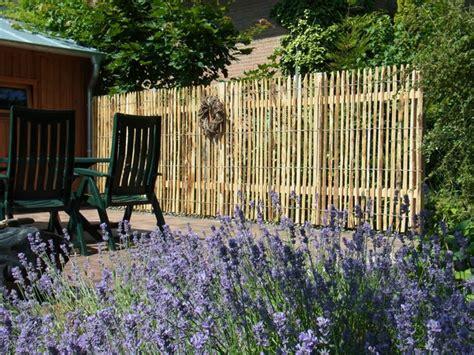 terrasse zaun selber bauen sichtschutz selber bauen 5 diys aus naturmaterial