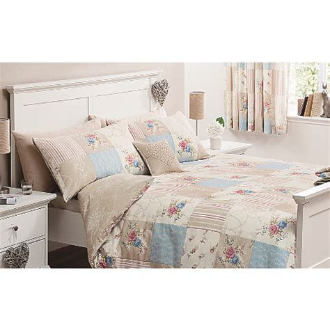 George Home Vintage Patchwork Duvet Set Bedding Asda Asda Bed Sets