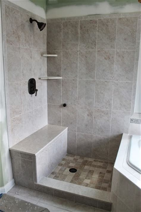 built in shower benches custom built shower bench basking ridge nj 07920