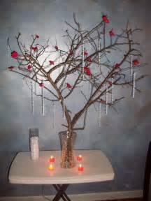 tree branch centerpiece centerpiece help weddingbee
