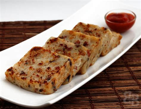 recipe new year turnip cake new year cakes bread et butter