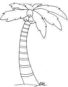palm tree coloring page palm tree coloring pages for coloring home