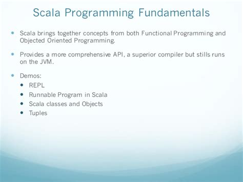 learning scala programming object oriented programming meets functional reactive to create scalable and concurrent programs books scala programming introduction