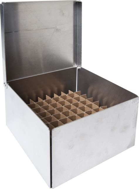 20 inch metal box labrepco standard 3 quot aluminum boxes with 81 cell dividers
