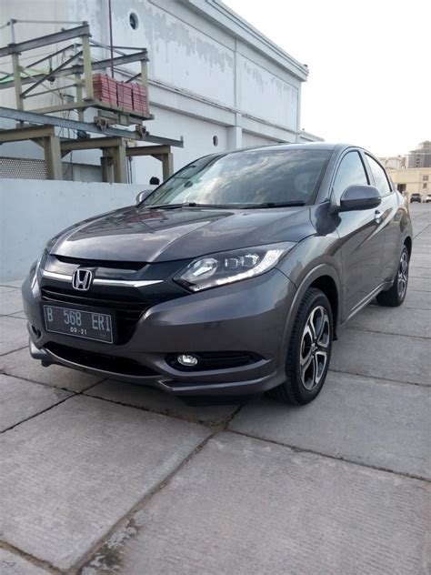 Honda Hrv 1 8 Cvt Prestige hr v honda hrv all new 1 8 prestige matic 2016 grey