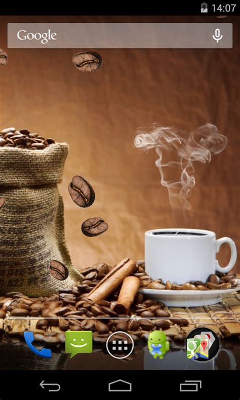 coffee wallpaper for android coffee live wallpaper android apps on google play