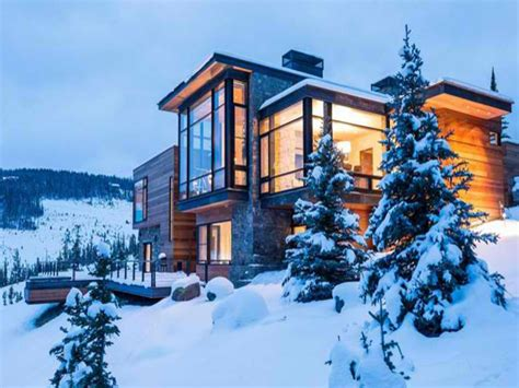 contemporary mountain homes modern house on mountain modern house