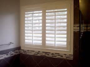 Window Treatments Shutters Best Window Treatment For A New Bathroom 187 Windo Go