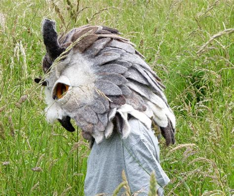 Handmade Animal Masks - 10 beautiful masks for going home to roost