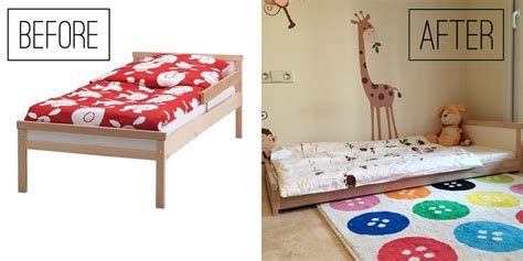 lade da terra leroy merlin the ikea montessori bed