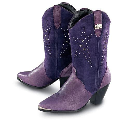 s dingo 174 starlite boots purple 110936 cowboy