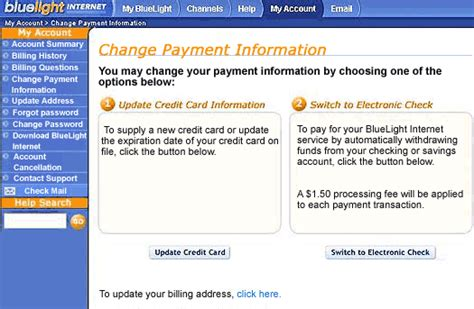 update change my account details help debenhams bluelight internet support view account status value