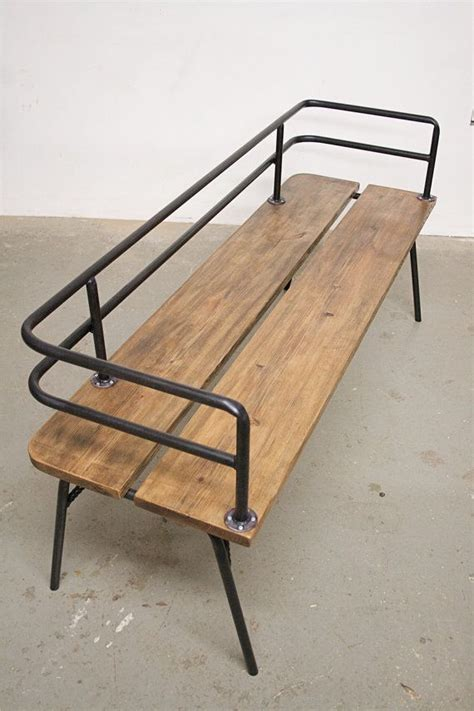 industrial benches for sitting panka indoor outdoor bench panka is a handmade made to