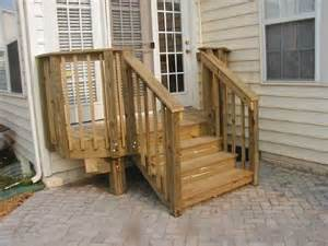 Outside Stairs With Landing by Wooden Steps For Garden Wooden Stepswith A Landing