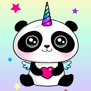 panda unicorn wallpapers pandicorn backgrounds android