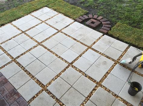 Patio Paver Sand Patio Using 12x12 Pavers Search Patio Ideas Patios And Backyard