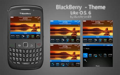 themes blackberry curve 8520 os6 theme for curve 8520