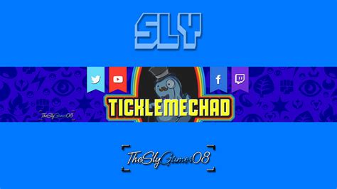 layout youtube banner 2016 ticklemechad youtube banner by theslygamer08 on deviantart