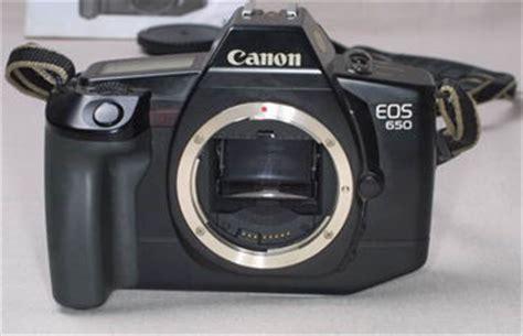 canon eos cameras eos650 index page