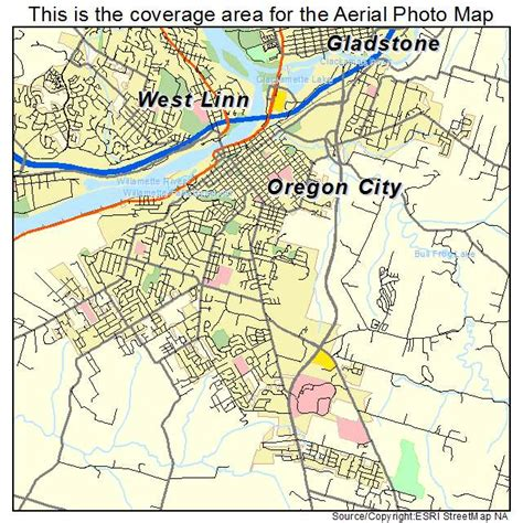 map of oregon city area oregon city or pictures posters news and on