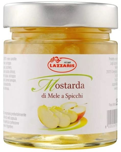 mostarda mantovana di mele mostarda mantovana 250g prezzo e vendita