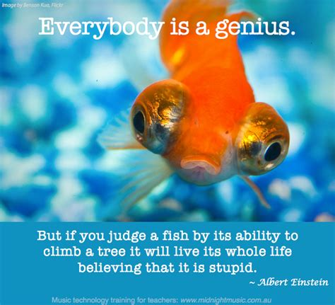 would you teach a fish to climb a tree a different take on with add adhd ocd and autism books quoteable quote monday midnight