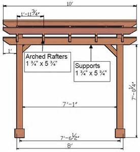 Height Of A Pergola by Pergola Dimensions Related Keywords Amp Suggestions