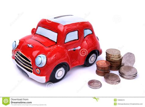 car coin bank mini bank stock photos image 13969513