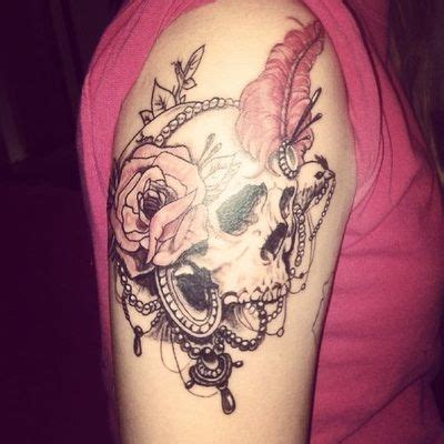 girly skull tattoo designs 20 best tattoos for arm images on