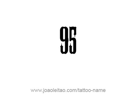 Ninety Five ninety five 95 number designs page 2 of 4