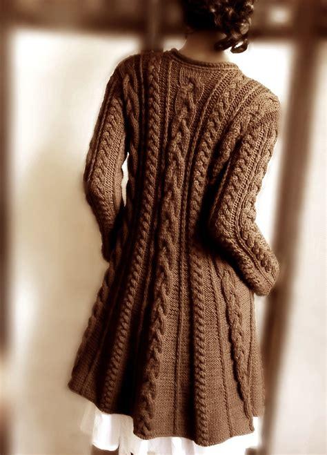 knit pattern long sweater coat hand knit wool cable sweater coat cable knit sweater many