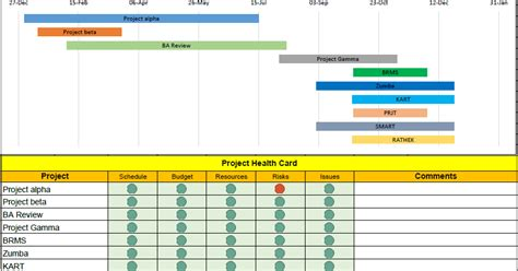 project portfolio template excel free download free