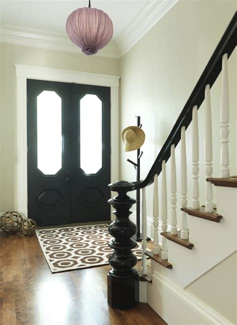 How To Paint A Banister Black by Black Banisters Interior Design Ideas Bright Bold And