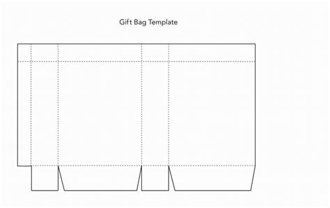 paperbag template lunch bag template paper bag template for
