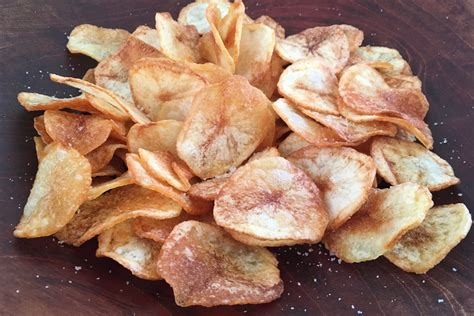 Handmade Chips - how to make potato chips