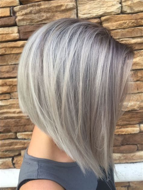 grey hair on mid length hair best 25 gray hairstyles ideas on pinterest silver hair