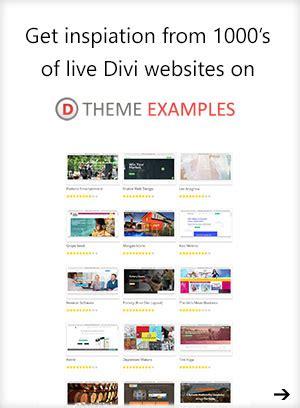 divi theme exles sites app 5 page layout pack for divi theme divi theme layouts
