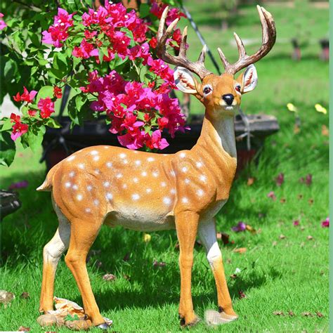 walmart decorative deer outdoor deer statues outdoor decor for garden sathoud decors